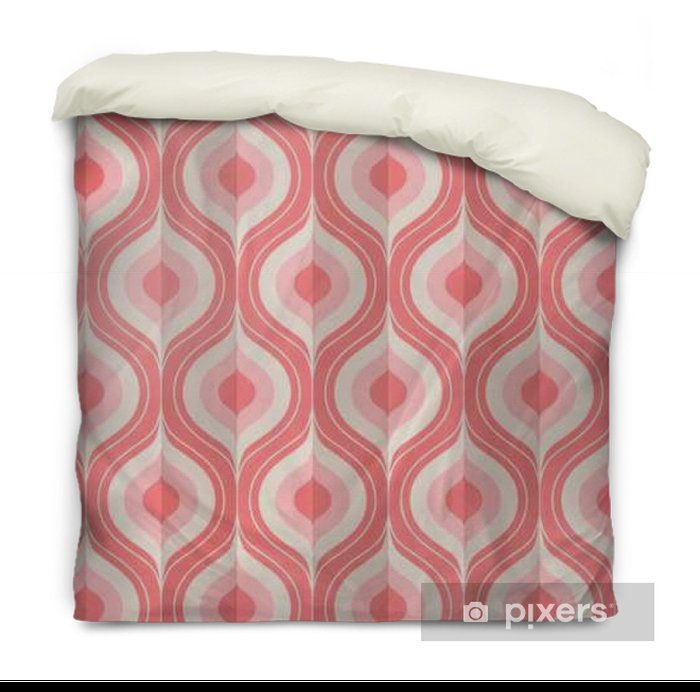 seamless vintage geometric pattern Duvet Cover - Graphic Resources