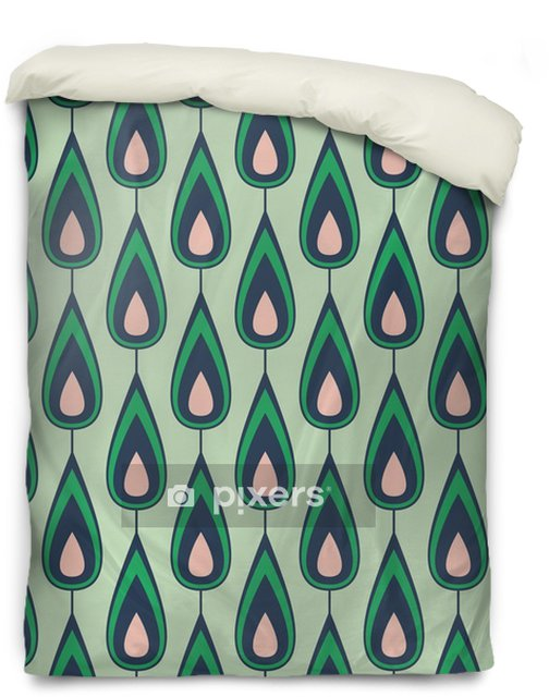seamless vintage pattern Duvet Cover - Graphic Resources