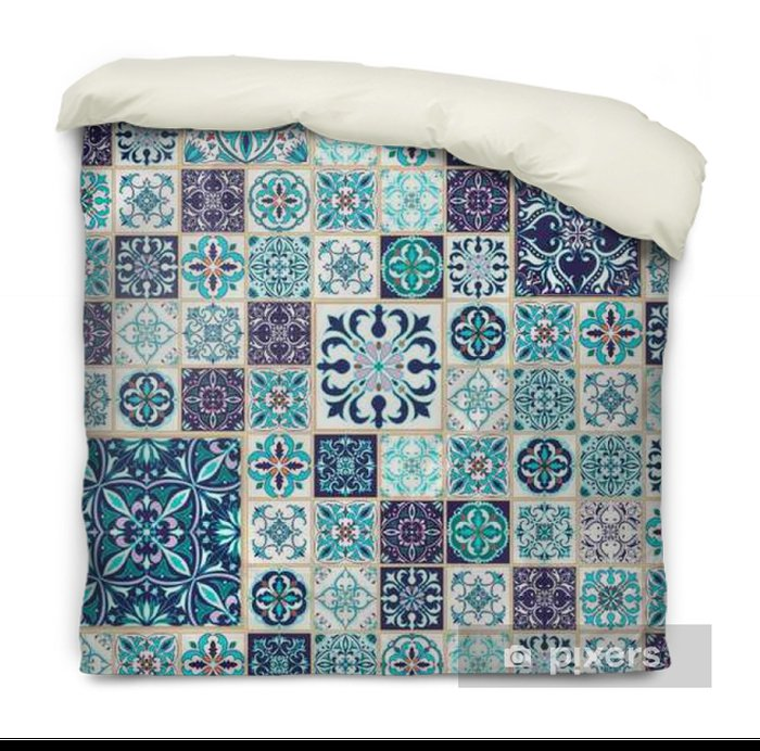 Vector Seamless Texture Beautiful Patchwork Pattern For Design And Fashion With Decorative Elements Duvet Cover Pixers We Live To Change