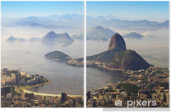 Dyptyk Głowa Cukru, Rio de Janeiro, Brazylia - Brazylia