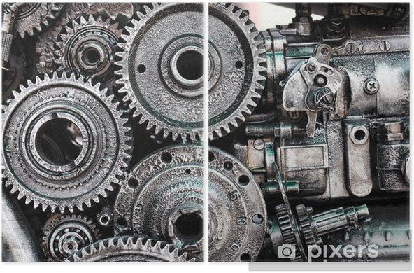 Dyptyk Montaż mechaniczny - Przemysł