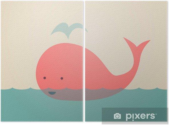 Dyptyk Śliczne Whale - Tematy