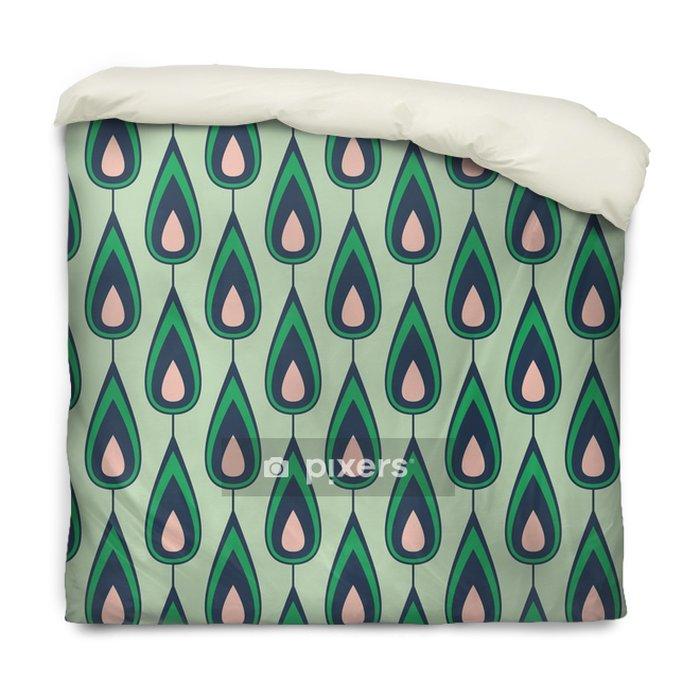 Federa per piumoni Seamless vintage pattern - Risorse Grafiche