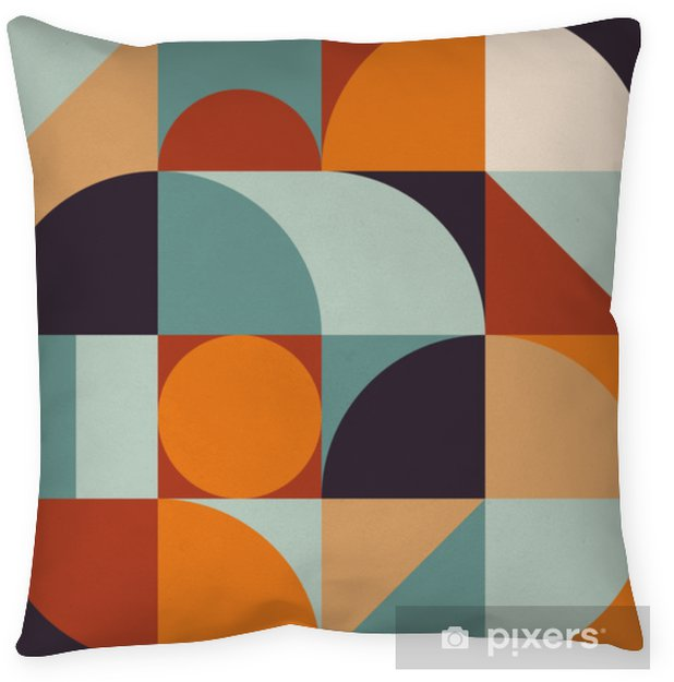 Abstract Geometry Pattern Graphic 12 Floor Pillow - Graphic Resources