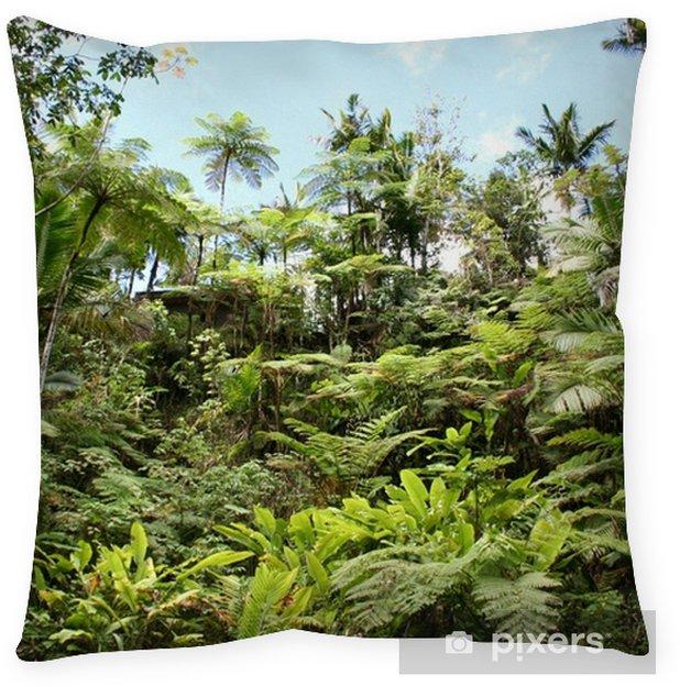 Lush Jungle Floor Pillow