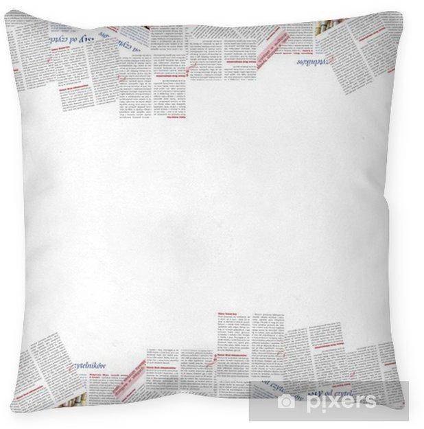 newspaper frame Floor Pillow • Pixers® • We live to change