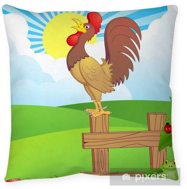 Wake Up Calling Floor Pillow • Pixers® • We Live To Change
