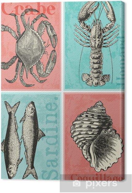 4 cartes postales Fotolærred - Helligdage