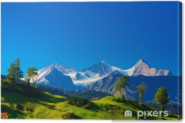 Alperne bjerge Fotolærred -