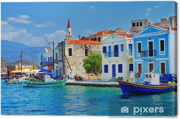 Billedgræske øer - Kastelorizo Fotolærred -