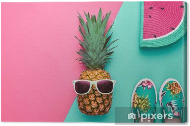 8ba0894a9b6a Fashion Hipster Pineapple Fruit. Lys sommerfarve