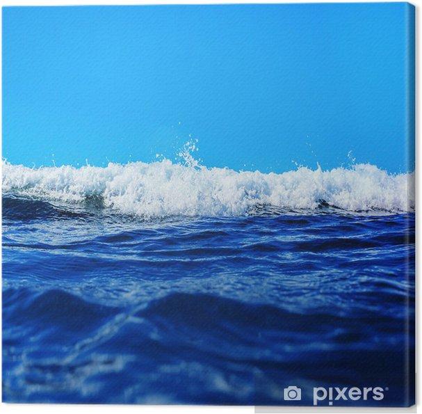 Havbølge i detaljer Fotolærred -