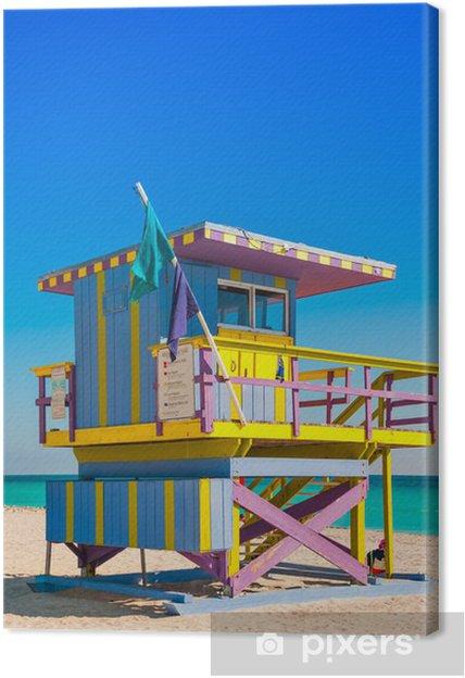 Livredder Tower i South Beach, Miami Beach, Florida Fotolærred - Amerika