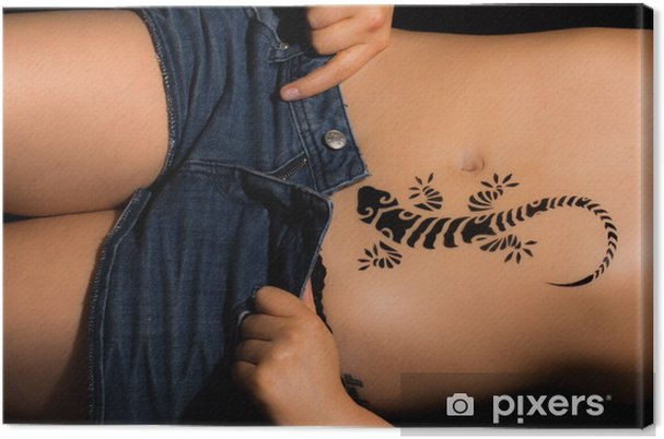 pige tatovering