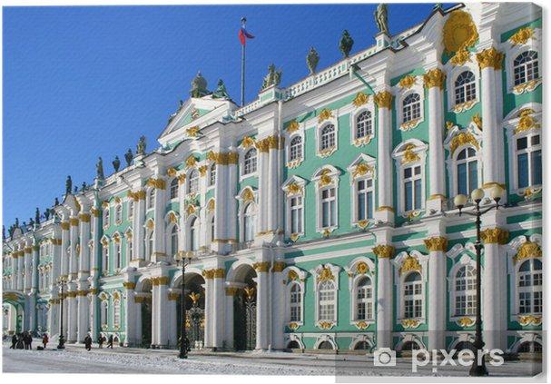 Vinterpaladset I Skt Petersborg Rusland Fotolærred Pixers Vi