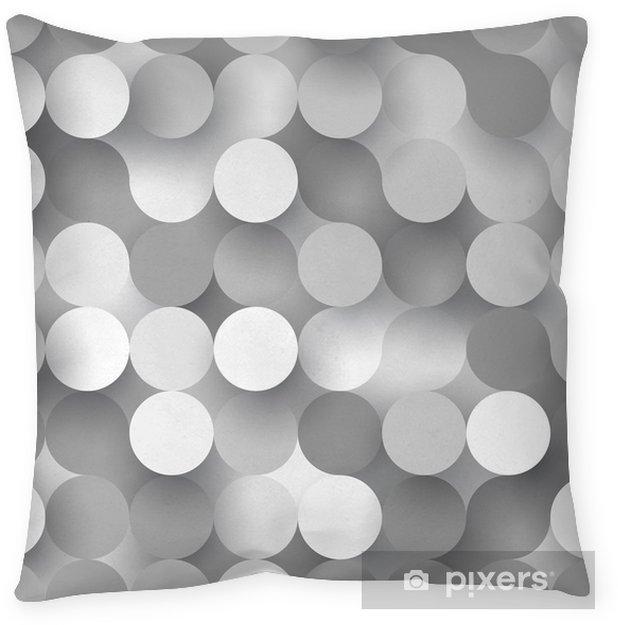 Funda de almohada Círculos planas sin costura - Recursos gráficos