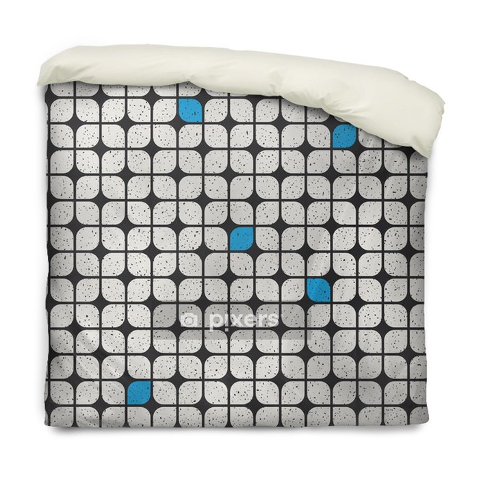 Funda de edredón Seamless patrón geométrico - Recursos gráficos