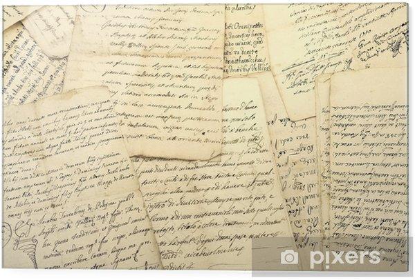 Glass print manuscripts - Graphic Resources
