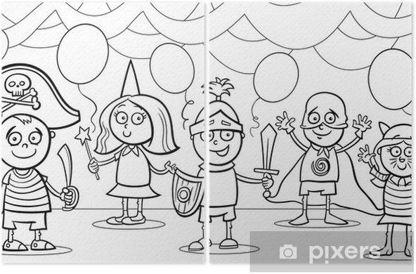 Fantezi Top Boyama çocukların Iki Parçalı Pixers Haydi
