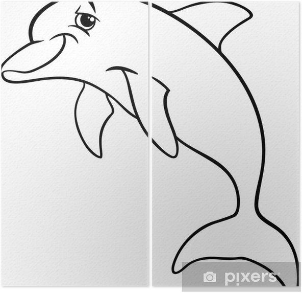Yunus Hayvan Karikatür Boyama Kitabı Iki Parçalı Pixers Haydi
