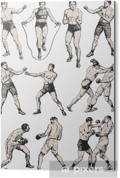 Impressão em Alumínio (Dibond) Boxing club - Texturas