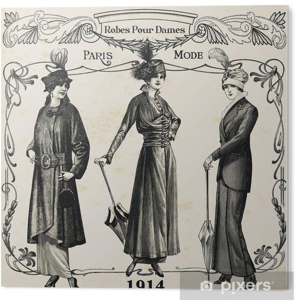 Impressão em PVC Dress - Fashion/ moda