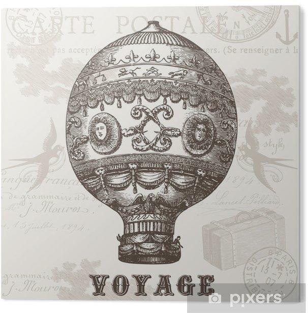 Impressão em PVC Voyage - Recursos Gráficos