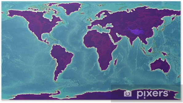 Maailman Kartta Kuva Juliste Pixers Elamme Muutoksille