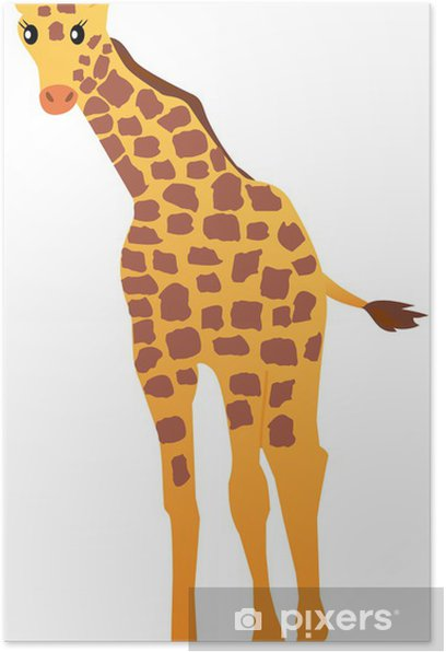 Piirretty kirahvi