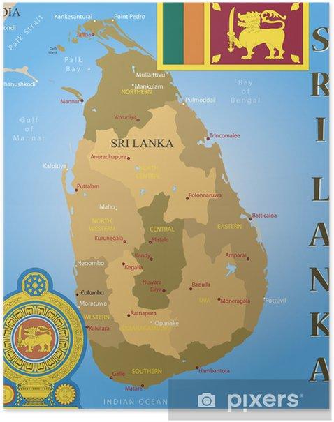 Sri Lanka Kartta Finland