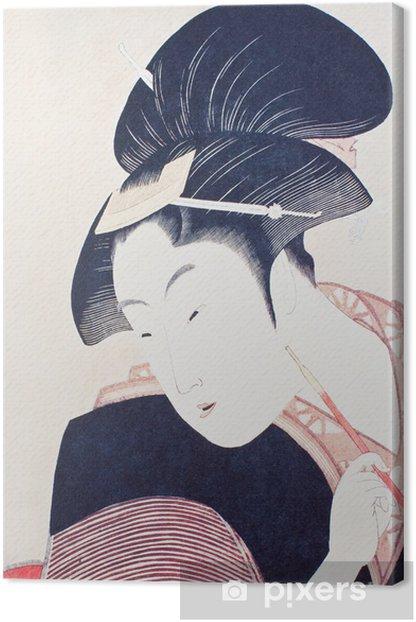 浮世 絵 Kangaskuva - Naiset