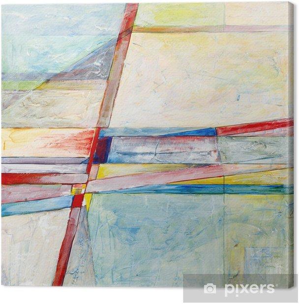 Abstrakti maalaus Kangaskuva - Harrastukset Ja Vapaa-Aika