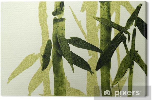 Bambu / rakenne Kangaskuva - Ympäristö