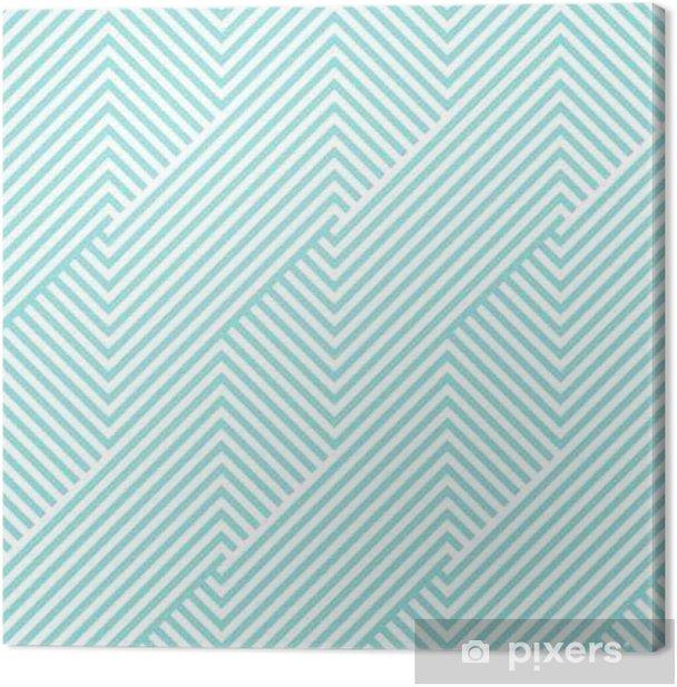 Chevron kuvio saumaton vihreä aqua ja valkoiset värit. muotisuunnittelukuvio saumaton. geometrinen raita abstrakti taustavektori. Kangaskuva - Graafiset Resurssit