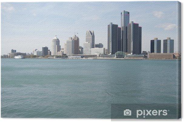 Detroit skyline Kangaskuva - Amerikka
