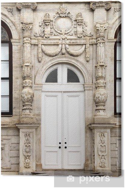 Dolmabahce palatsi arkkitehtoniset yksityiskohdat (istanbul) Kangaskuva - Keski-Itä/Lähi-Itä