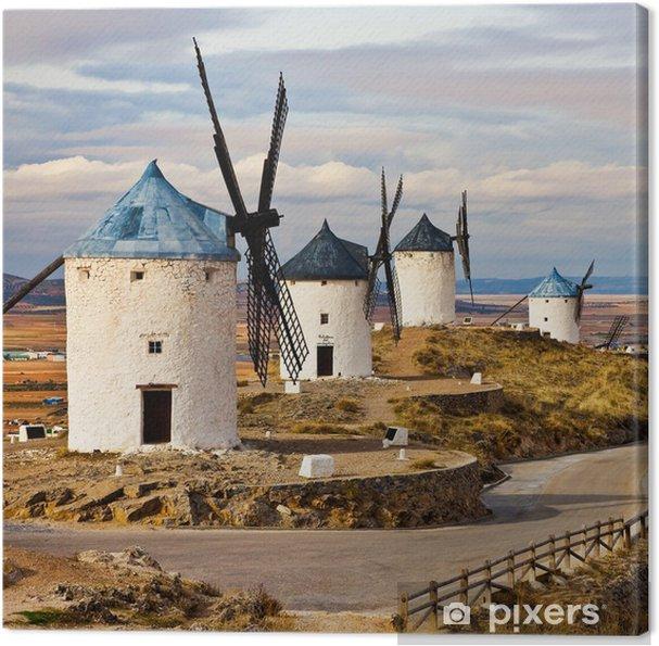 Espanjan tuulimyllyt Kangaskuva - Mills and windmills