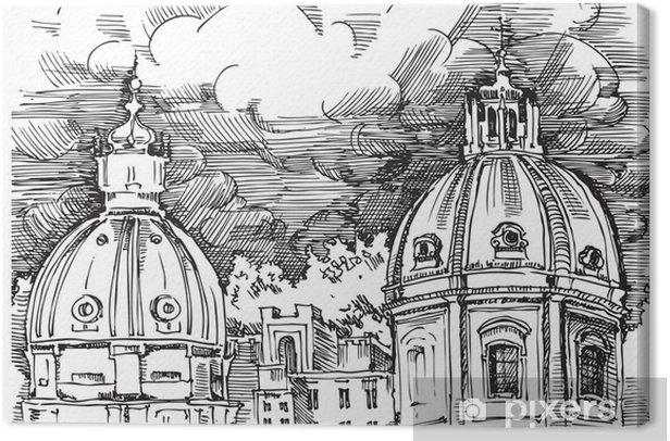 Italia - roma Kangaskuva - Euroopan Kaupunkeja