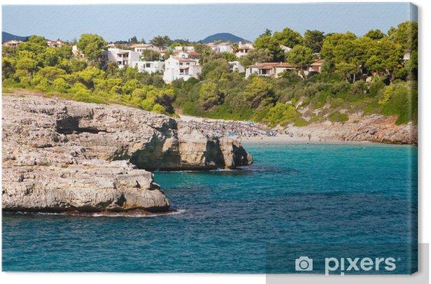 Kauniit kalliot vuonot Majorcan saaren lomakohdeilla Kangaskuva - Lomat