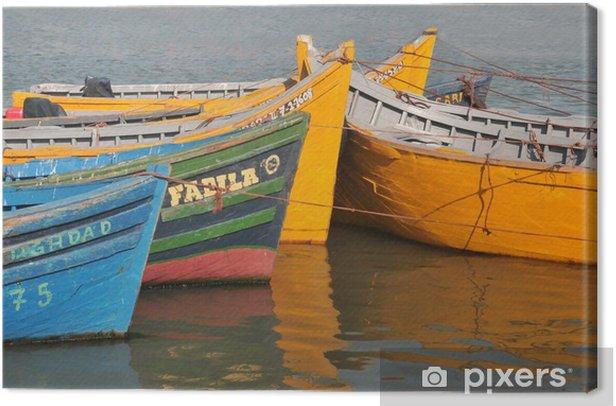 Les barques colorées Kangaskuva - Afrikka