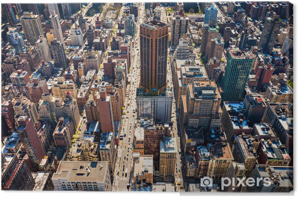 Manhattan, New York. USA. Kangaskuva - Amerikan Kaupunkeja