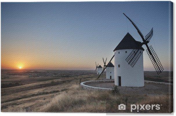 Moulins de don quichotte - espanja - antonio gaudencio Kangaskuva - Mills and windmills