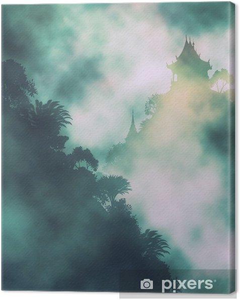 Mystinen vuori temppeli Kangaskuva - Maisemat