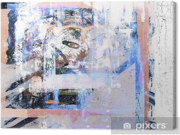 Öljymaalaus Kangaskuva - Taide Ja Tuotanto
