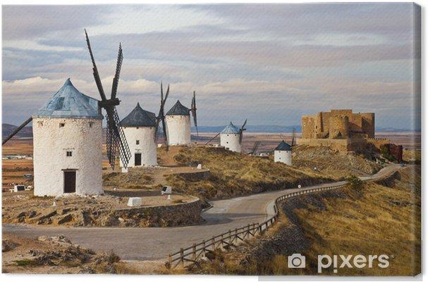 Tuulimyllyjä don quixote -transitional spain Kangaskuva - Mills and windmills