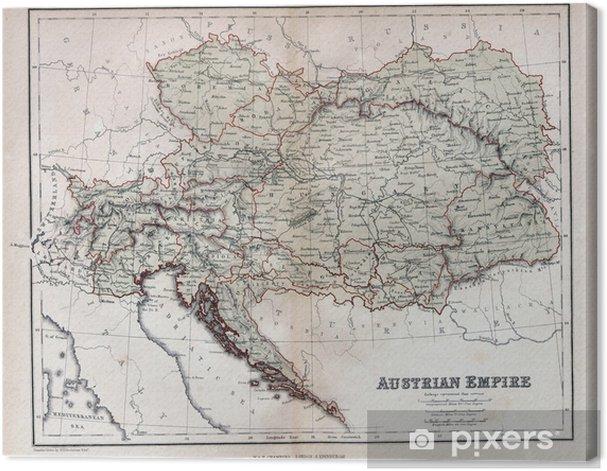 Itavalta Unkarin Kartta 1900 Kartta Itavalta Unkari 1900 Ita