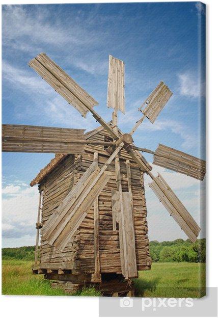 Vanhat tuulimyllyt Kangaskuva - Mills and windmills