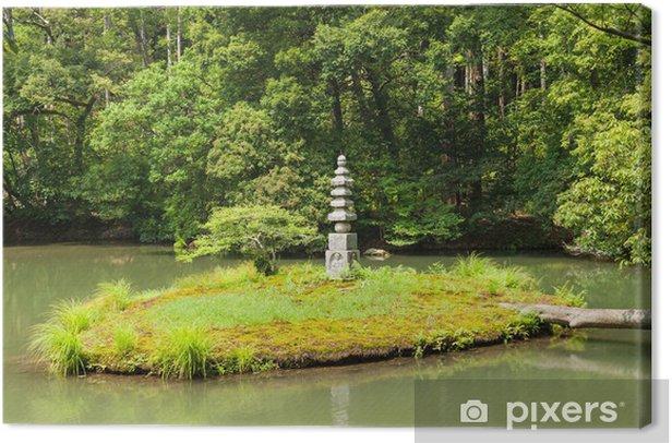 Zen-puutarha Kangaskuva - Aasia