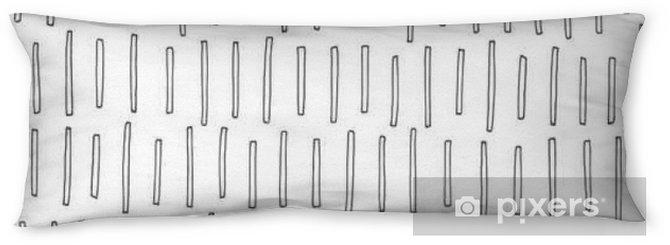 Kroppskudde Abstrakta mönster - Grafiska resurser