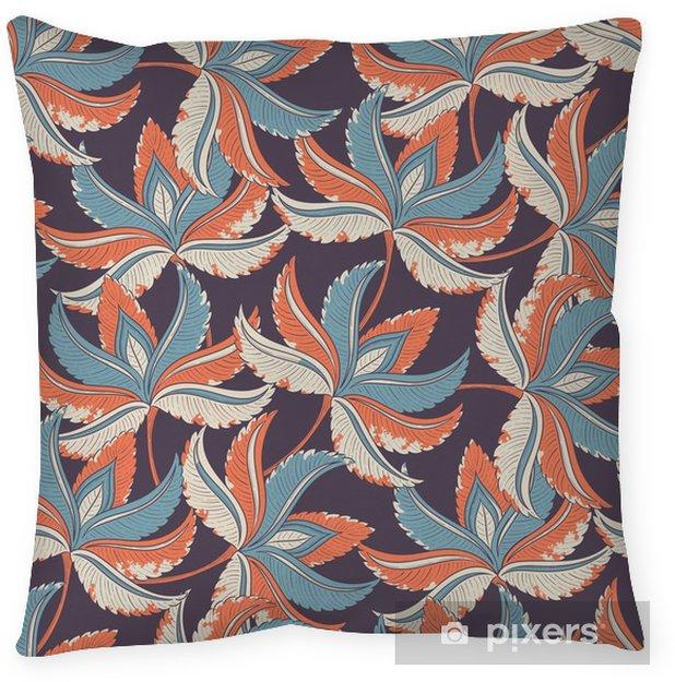 Kussensloop Naadloze retro patroon - Bloemen en Planten